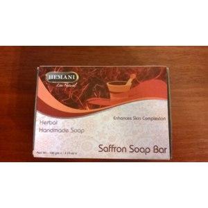 Мыло ручной работы Hemani Saffron soap bar фото