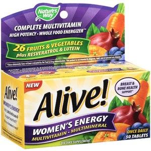 БАД  Nature's Way, Alive!, Women's Energy.  фото