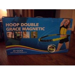 Массажный обруч Hoop Double Grace Magnetic JS-6001 фото