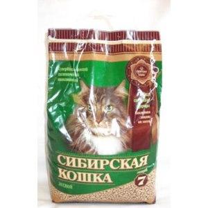 Наполнитель для кошачьего туалета Сибирская кошка лесной фото