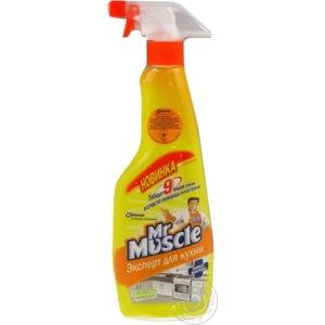 Чистящее средство Мистер Мускул Эксперт для кухни свежесть лимона фото