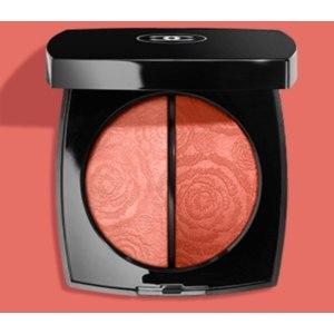 Палетка для макияжа лица Chanel FLEURS DE Printemps Spring/Summer 2021 Дуэт пудровых текстур Весна-лето 2021  фото