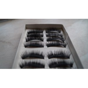 Накладные ресницы  Aliexpress   10 pairs False Eyelashes фото