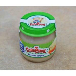 Пюре Спеленок из цветной капусты для детского питания фото