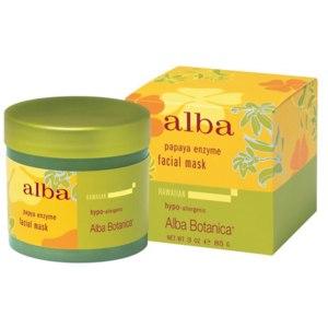 Маска для лица Alba Botanica Facial Mask Papaya Enzyme фото