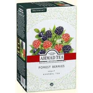 Чай в пакетиках AHMAD Forest Berries травяной c лесными ягодами фото