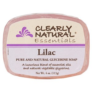 Мыло  Clearly Natural Essentials, Pure and Natural Glycerine Soap, Lilac фото