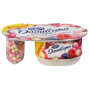 Йогурт Danone Даниссимо фантазия хрустящие шарики с ягодным вкусом фото