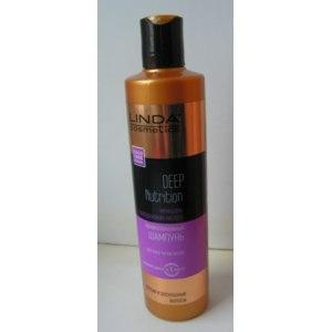 Шампунь Linda cosmetics Профессиональный Deep Nutrition «Женьшень и гиалуроновая кислота» для всех типов волос фото