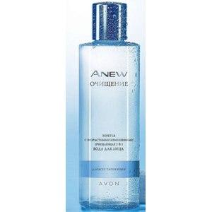 3-в-1 Avon Anew Вода для лица очищающая фото