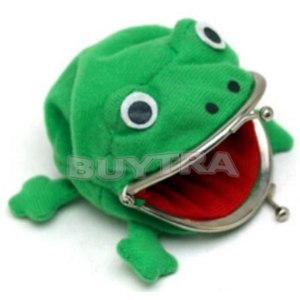 Кошелек Aliexpress 1pcs 2015 New Fashion Frog Wallet Anime Cartoon Wallet Coin Purse Manga Flannel Wallet Cute purse Naruto Coin holder фото