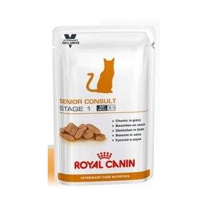 Корм для кошек Royal Canin Паучи SENIOR CONSULT STAGE 1 WET фото