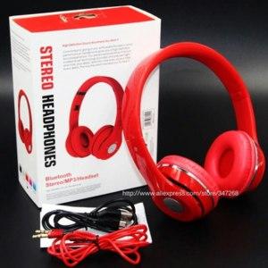 Беспроводные наушники Aliexpress High quality Bluetooth stereo headset MP3 FM TF SD bluetooth headphone with mic Foldable wireless For iPhone Laptop Mobile фото