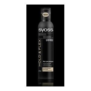 Мусс для укладки волос SYOSS HOLD & FLEX Экстрасильная фиксация фото