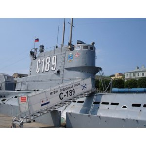 """Музей Подводная лодка """"С-189"""", Санкт-Петербург фото"""