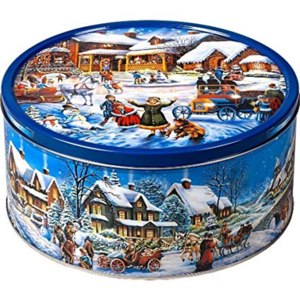 Печенье Jacobsens Bakery Winter Village фото