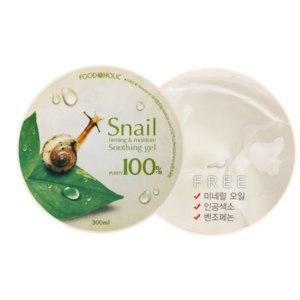 Универсальный гель FoodAHolic Snail Firming and Moisure Soothing Gel фото