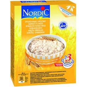 Каши быстрого приготовления Nordic Ячменные хлопья фото