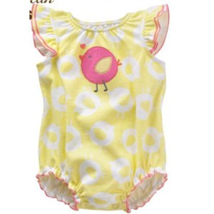 Боди Aliexpress Rompers newborn baby girl clothes 2016 summer floral print cartoon brand children's clothing newborn romper suit 6 - 24 m фото