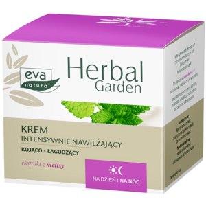 Крем для лица Eva natura Herbal garden Интенсивно увлажняющий  фото