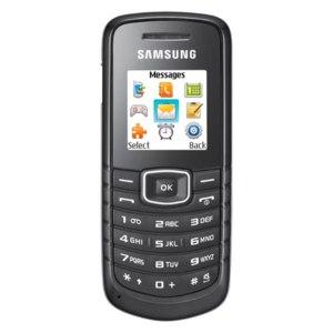 Samsung GT-E1080i Black фото