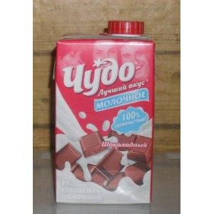Молочный коктейль Чудо Шоколадный фото