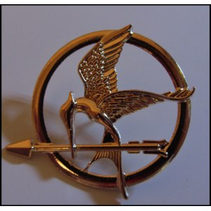 Брошь Aliexpress New Style Fashion Hunger Game Personality Brooches Arrow Bird Brooch Pins Free Shipping SH042 фото
