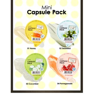 Гель-маска The Face Shop Mini Capsule Pack фото