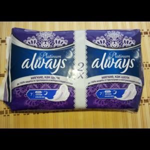 Прокладки Always Platinum ultra ночные 6 капель фото