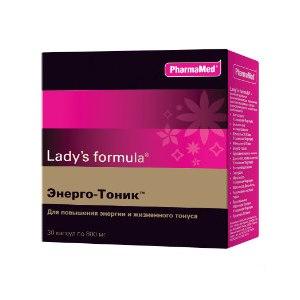 Витамины Lady's formula Энерго-Тоник капс. №30 фото