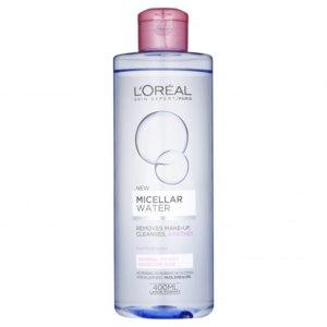 """Мицеллярная вода L'Oreal Paris для сухой и чувствительной кожи """"Очищенная вода и глицерин"""" фото"""