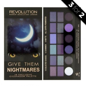 Палетка теней Makeup Revolution Give Them Nightmares фото