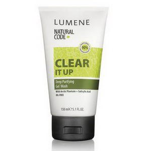 Гель для умывания Lumene natural code clear it up фото