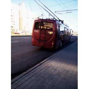 Троллейбус Белкоммунмаш, Минск, Беларусь фото