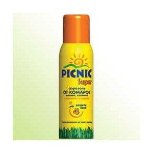 Спрей от комаров  picnic фото