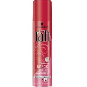 Лак для волос Taft  Лак-блеск с эффектом ламинирования.Сверхсильная фиксация. фото