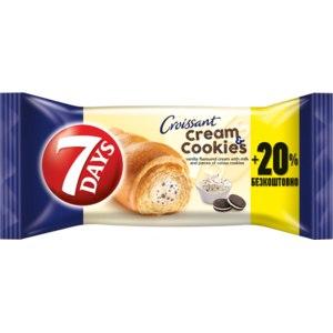 Круассан 7 Days Миди Cream & Cookies фото