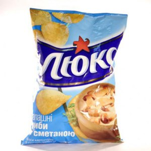 Чипсы картофельные Люкс  фото