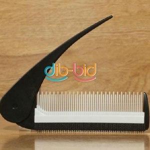 Расческа Ebay Mini Portable Black and White Color Folding Style Modelling Fluffy Comb  фото
