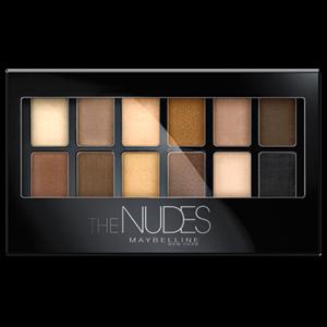 Палетка теней MAYBELLINE The Nudes фото