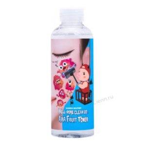 Пилинг - тоник Elizavecca Hell-Pore Clean Up Aha Fruit Toner с фруктовыми кислотами. фото