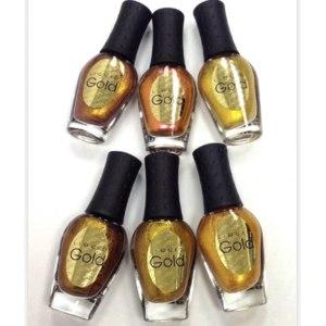 Лак для ногтей NailLOOK Liquid Gold  фото
