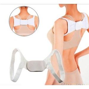 Корректор осанки Aliexpress Adjustable Therapy Back Support Braces Belt Band Posture Shoulder Corrector for Women 2014 New Fashion Health фото