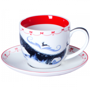 "Чашка Faberlic ''Зимняя сказка"" фото"