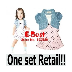 Платье AliExpress <b>2Pcs Kids</b> Clothing <b>set</b> Baby Girls Dress + Top ...