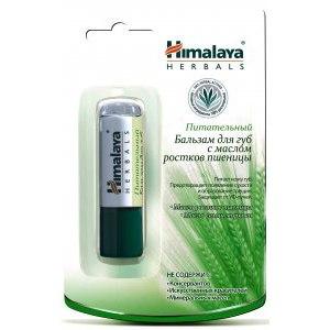 Бальзам для губ Himalaya herbals с маслом ростков пшеницы фото