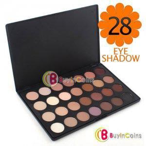 Палитра теней Buyincoins Pro 28 Color Neutral Warm Eyeshadow Palette Eye Shadow фото