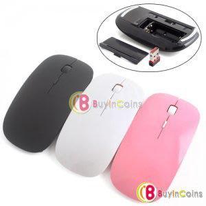 Компьютерная мышь Buyincoins Thin 2.4GHz Wireless USB Wheel Optical Mouse PC Laptop фото