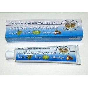 Зубная паста ABHAIBHUBEJHR травяная с кожурой мангостина фото