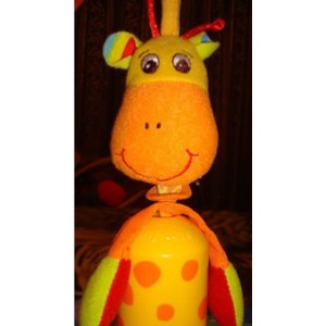 Tiny Love Подвеска - колокольчик Жираф фото